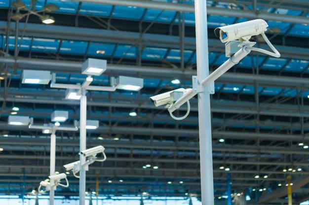 CCTV surveillance In Factory